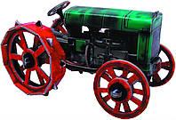 Трактор Fordson F, Сборная игровая модель из картона, Умная бумага
