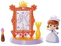 Художественная мастерская принцессы Софии, мини-кукла, Disney Sofia the First, Jakks Pacific
