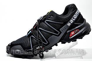 Мужские кроссовки в стиле Salomon Speedcross 3, Black