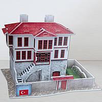 Трехмерная головоломка-конструктор Турция. Традиционный дом, CubicFun