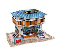 Трехмерная головоломка-конструктор Турция: магазин керамики. CubicFun