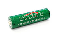 Аккумулятор для фонарика Cafini Li-ion CN-18650 3.7V-4.2V