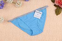 Трусы женские бикини танга Calvin Klein bikini Perfectly fit   голубой, S