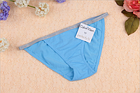 Трусы женские бикини танга Calvin Klein bikini Perfectly fit   голубой, L