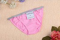 Трусы женские бикини танга Calvin Klein bikini Perfectly fit   светло-розовый, S