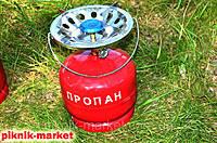 Баллон газовый бытовой 8 л. бутан с горелкой