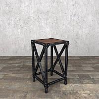 Барный стул из металла в стиле лофт