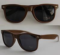 Очки солнцезащитные Сolorful форма Wayfarer RB2140 коричневые (шоколад) 32aea3822ba94
