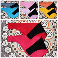 Манишка-бафф флисовая двухцветная
