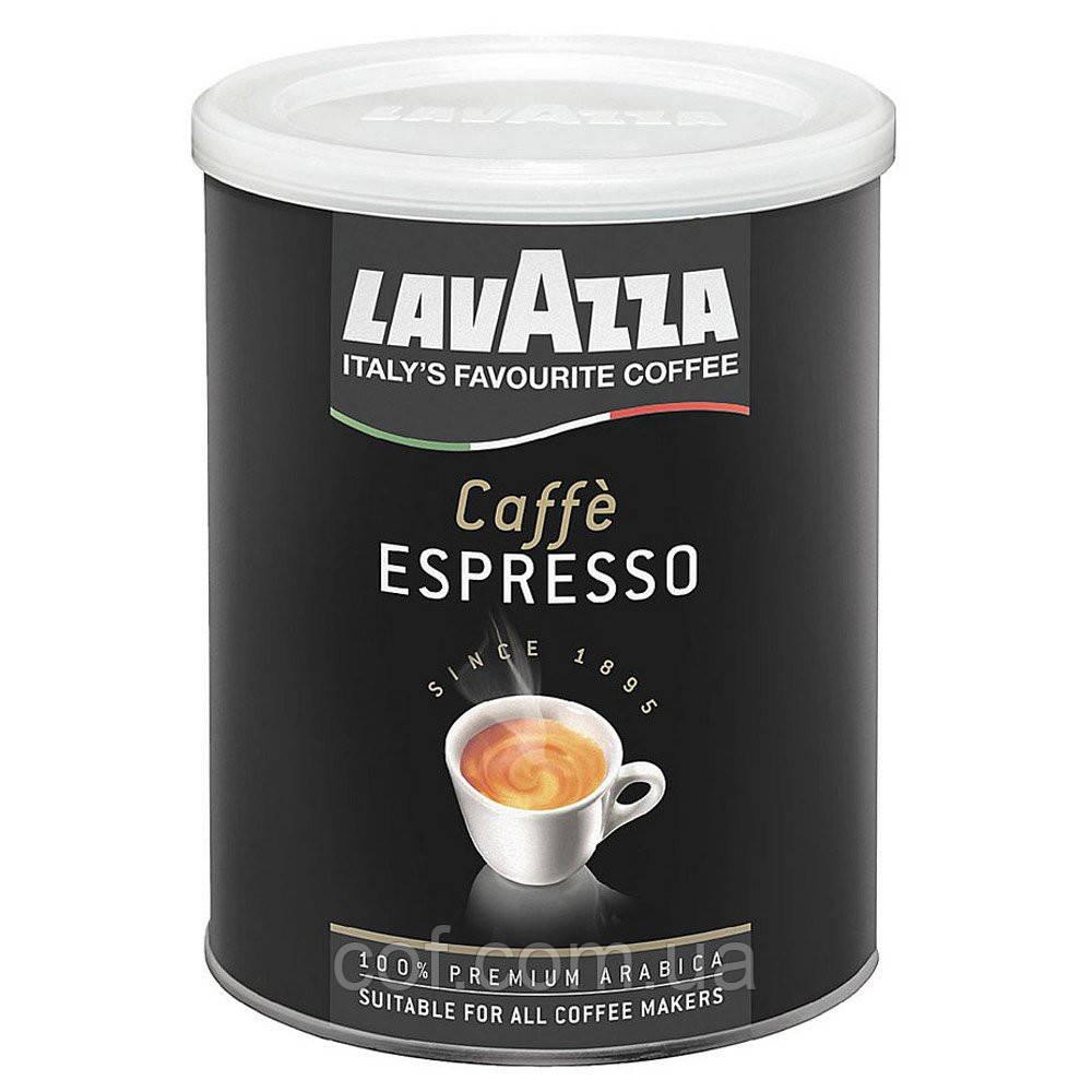 Кофе молотый Lavazza Caffe Espresso 250г (жестяная банка)