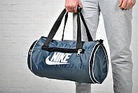 Спортивная сумка найк (Nike), круглая, дорожная
