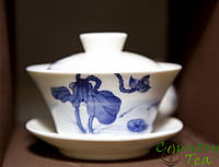Гайвань «Лотос» 150 мл. Фарфор. Гайвань для китайского чая.
