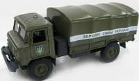 Автомодель - ГАЗ-66 ВООРУЖЕННЫЕ СИЛЫ (свет, звук)