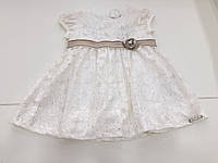 Детское нарядное платье для девочки на 6-9 месяцев ,  1,5-2 года