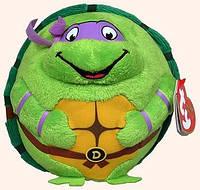 Черепашка-ниндзя Донателло, мягкая игрушка 12 см, Beanie Ballz, Ty