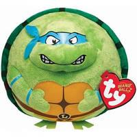 Черепашка-ниндзя Леонардо, мягкая игрушка 12 см, Beanie Ballz, Ty