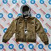 Подростковая куртка на мальчика кожзам NATURE