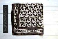 Шейный атласный платок 50 см на 50 см