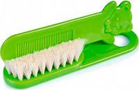 Щетка для волос мягкая (салатовая), Canpol babies