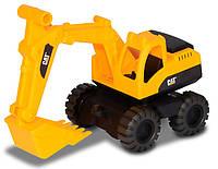 Экскаватор CAT. Мини-строительная техника 25 см. Toy-State