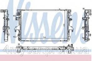 Радиатор охлаждения VW (производство Nissens ), код запчасти: 65282A