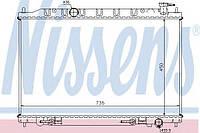 Радиатор охлаждения Nissan (производство Nissens ), код запчасти: 68712
