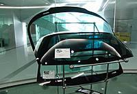Skoda Fabia від 2007р. заднє з шовкографією під стоп, з електрообігрівом, з отвором