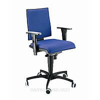 Кресло Маск LB (низкая спинка) Розана-101 синий