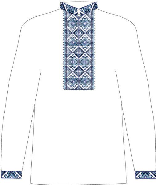 Заготовка чоловічої сорочки на габардині ЧСВ-1. 260 грн. 552658a004180