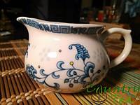 Чахай (фарфоровый). Фарфор. Китайский набор посуды. Для чая. Чайничек, Чаша справедливости.