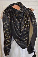 Платок в стиле Louis Vuitton Monogram (Луи Витон) с люрексом