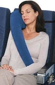 Подушка для путешествий дорожная TravelRest Inflatable Luxury Pillow reinvented
