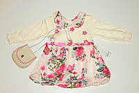 Платье на девочку с сумочкой Турция.