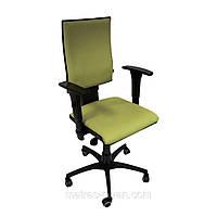 Кресло Маск LB (низкая спинка) Розана-100 салатовый микрофибра.