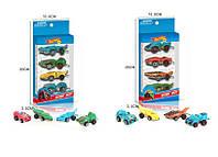 Набор машин Hot Wheel М1:64, 4 машины в комплекте, 2367-4A