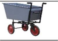 Візок для сухих кормів-3(самоскид),Тележка для сухих кормов-3(самосвал)