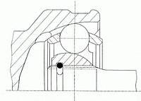 Шрус ford focus ii 1.4-1.6 (производство GKN-Spidan ), код запчасти: 24925