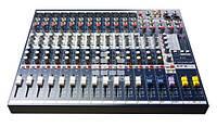 Soundcraft EFX12 + K - Микшерный пульт с эффектпроцессором - 12-моно, 2-стерео