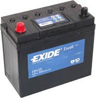 Аккумулятор 45Ah-12v Exide EXCELL(234х127х220),L,EN330 (производство EXIDE ), код запчасти: EB455