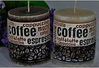 Ароматизированная Свеча Coffe Time цилиндр 70х90 мм
