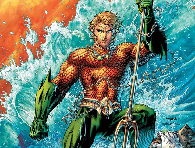Футболки Аквамен Aquaman