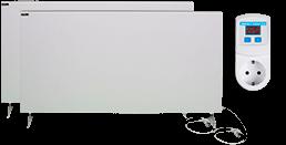 Отопительный комплект обогревателей Termoplaza выгодный 20 м.кв. (375вт+475вт+терморегулятор ТР)