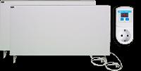 Отопительный комплект обогревателей Termoplaza выгодный 25 м.кв. (375вт+475вт+терморегулятор ТР)
