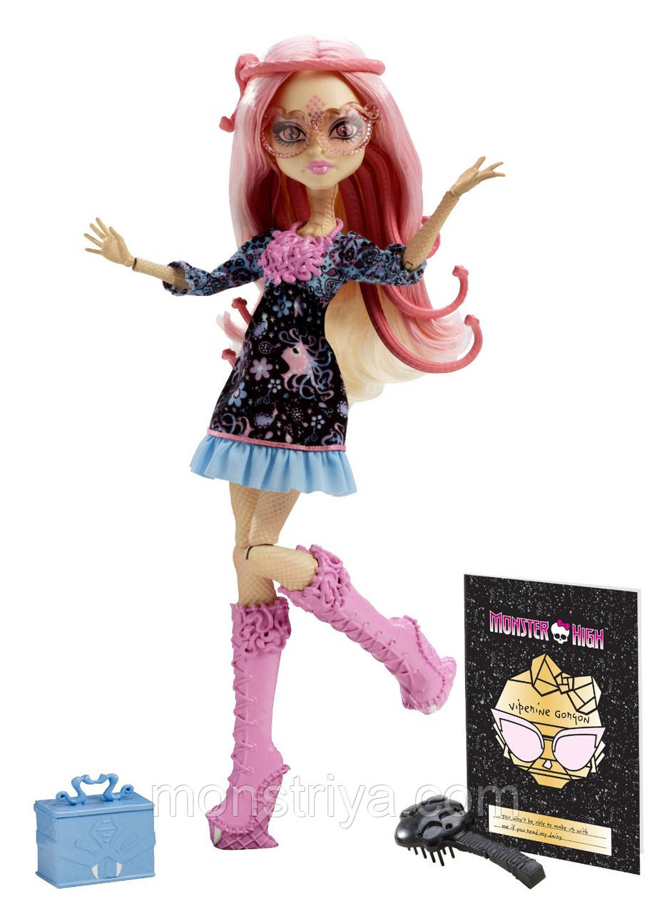 Кукла Монстр Хай, Виперин Горгон. Monster High Frights, Camera, Action! Viperine Gorgon
