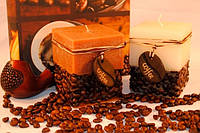 Ароматизированная Свеча Coffe Time квадрат 70х140 мм