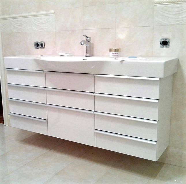 Мебель в ванную, реализованные проекты