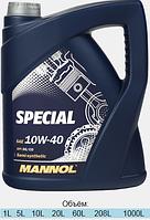 Полусинтетическое моторное масло Mannol Special 10W-40 5L
