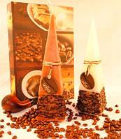Ароматизированная Свеча Coffe Time квадрат 50х150 мм