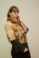 Куртка из меха волка, лисы,жилет из волка,куртка с мехом. 40-42 р.