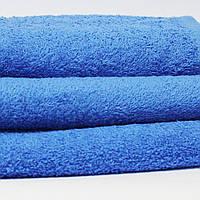 Салфетка махровая Зоряне сяйво, 30*30 см, гладкокрашенная, Blue2